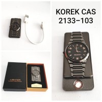 KOREK API USB CAS MOTIF JAM 2133-103 BLACK LIGHTER ELEKTRIK CHARGER