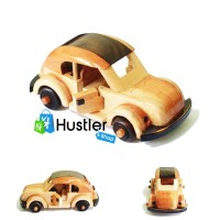 Souvenir Hiasan Miniatur Pajangan Koleksi Mobil VW Kayu Ukuran Kecil