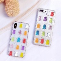 Iphone 6/6s Case Gummy Bear Jelly 3D Soft Case