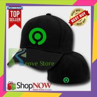 Topi Baseball Built Up Gojek New Logo 02 Trucker Snapback