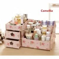Rak Kosmetik Mini Bahan Kayu / Cosmetics Storage Mini