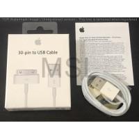 Kabel Data/Charger Apple iPhone 3/iPhone 4/iPad 2/iPad 3 Original 100%