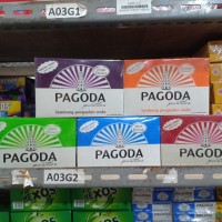 Pagoda permen pastiles box