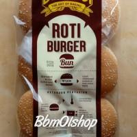 Roti Bernardi Bun wijen untuk burger dll