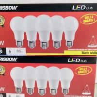 Bulb LED Krisbow 7watt Coldylight dan Warm White