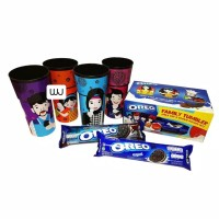 Oreo Biskuit Sandwich Tumbler/ Mug / Lunch Box - Netto 2 x 137gr