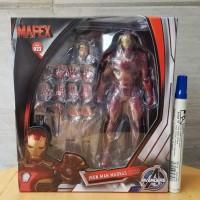 mainan action figure Mafex iron man mark 45 recast mafex avengers marv