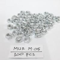 Mur M5 Mur Baut JP 5mm / per 100 pcs