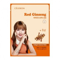Celebon Collagen Essence Mask Red Ginseng 23ml Original Korea