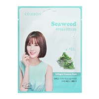 Celebon Collagen Essence Mask Seaweed 23ml Original Korea