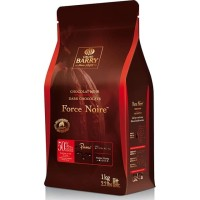 Cacao Barry Callebaut FORCE NOIRE 5kg 50% Dark Chocolate Couverture