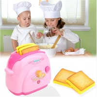 Toaster Kids Pretend Play Toys Home Kitchen For Gift