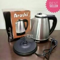 New Teko listrik ketel listrik ceret elektrik Arashi 1 5 liter