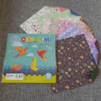 Kertas Lipat / Origami Motif SINAR DUNIA 16X16 50lbr