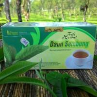 obat herbal khasiat ampuh teh daun sembung original tazakka alami