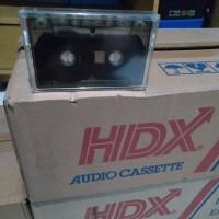 Kaset pita kosong C-60 HDX