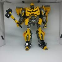 Mainan Transformers Model Series Warrior Hornets- BumbleBee Warriors
