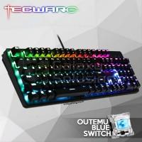 TECWARE PHANTOM 104 Backlit Mechanical Keyboard - Outemu Blue Switch