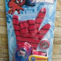 Sarung tangan mainan spiderman