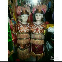 pakaian baju adat papua irian anak