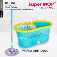 Super Mop Alat Pel Lantai BOLDe M 777X Otomatis Putar