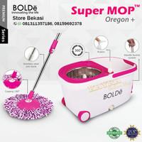 Super Mop Alat Pel Lantai Bolde OREGON+ Otomatis Putar