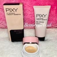 PIXY BB CREAM UV WHITENING 4 BEAUTY BENEFITS SHARE IN JAR
