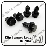 Kancing Klip Bemper HONDA Long - Clip Tekan - Original - Jazz City Civ