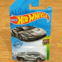 Diecast Hot Wheels Lamborghini Centenario Grey 2019 Super Car