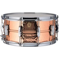 "SNARE DRUM LUDWIG Copperphonic - 6.5 x 14"" Hammered LC662K"