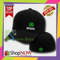 Topi Baseball Built Up Gojek New Logo 06 Trucker Snapback