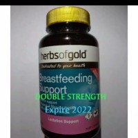 Asi Booster Herbs Of Gold Breastfeeding Support isi 60 tablets