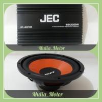 paket power, subwoofer JEC + MRZ