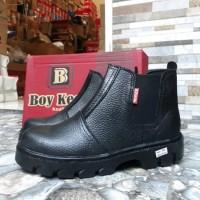 Sepatu Safety Boots Ujung Besi KR-18