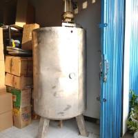 mixer tabung 500 liter, motor listrik 1 hp, 3 phase, gearbox, bekas