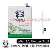 Baterai Oppo A3S Oppo A5 Realme 2 Realme C1 BLP673 Double IC Protectio