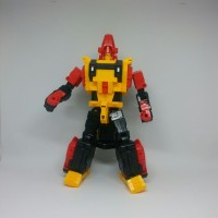 Mainan Robot Weijiang Transformers Headstrong- Iron Rhino combination