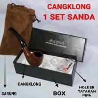 pipa rokok tembakau CANGKLONG import merk SANDA