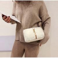 Tas bulu selempang wanita import F423 - sling bag anak abg remaja