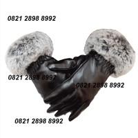 Sarung Tangan Kulit Musim dingin, Gloves Winter Touch Screen Wanita EU