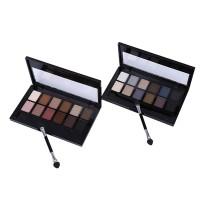 💕Palet Eyeshadow 12 Warna Nude / Coklat Gelap