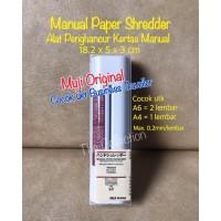 ATK0634MJ Manual Paper Shredder Alat Penghancur Kertas MUJI 915430
