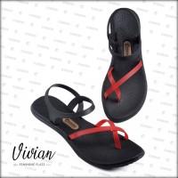 [Official] Sandal Camou Wanita VIVIAN Ladybug