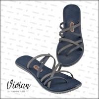 Sandal / Sendal Wanita Vivian Blueberry