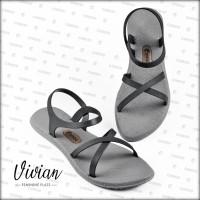 Sandal / Sendal Wanita Vivian Licorice