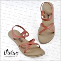 Sandal / Sendal Wanita Vivian Amaretto