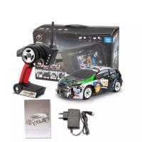 Wltoys K989 1/28 2.4G 4WD RC Rally Mini Car Rtr dengan Transmitter