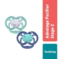 Dr.Brown's Advantage Pacifier - Stage 2 : 6 -18M, Assorted, 2-Pack