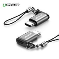 UGREEN CONVERTER MICRO USB ADAPTER FEMALE TO TYPE C WITH KEYCHAIN