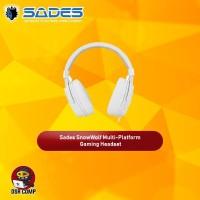 Sades SnowWolf Multi-platform Gaming Headset Garansi Resmi